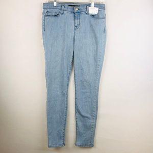 J Brand Light Wash Skinny Jeans Beaut Blue 31